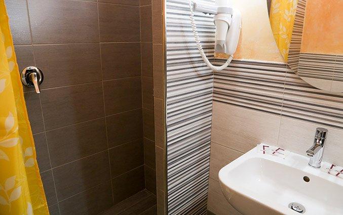 Badkamer van Hotel Santa Prassede Rome