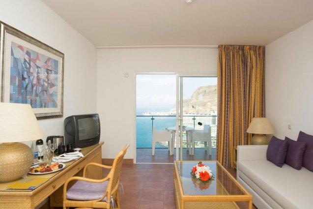 Woonkamer van Hotel Mogan Princess & Beach Club op Gran Canaria