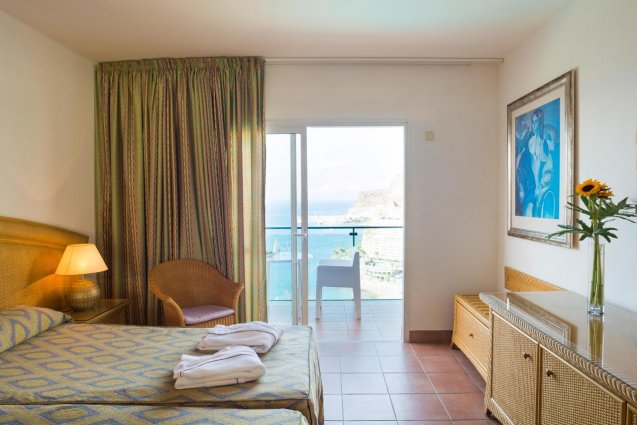 Kamer van Hotel Mogan Princess & Beach Club op Gran Canaria