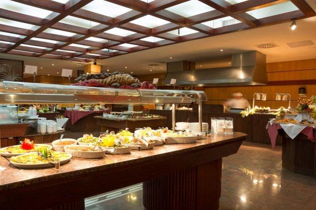 Ontbijtbuffet van Hotel Mogan Princess & Beach Club op Gran Canaria