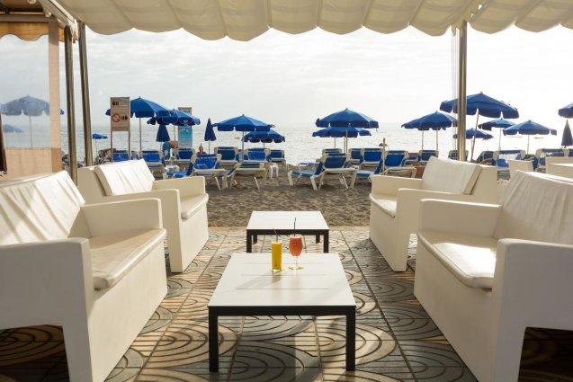 Terras van Hotel Mogan Princess & Beach Club op Gran Canaria