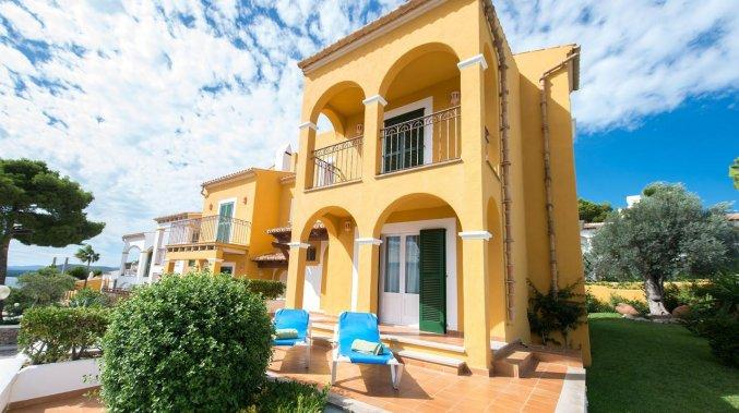 Gebouw van Aparthotel Ona Aucanada op Mallorca
