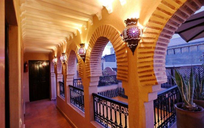 Hallen van Raid Marrakis in Marrakech