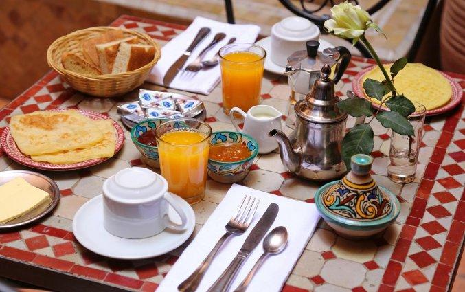 Maaltijd van Raid Marrakis in Marrakech