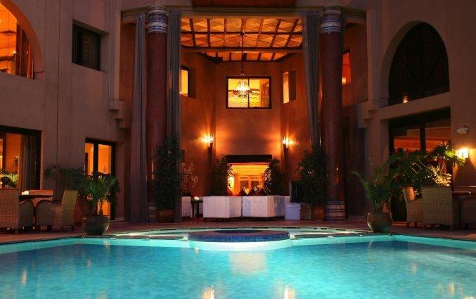 Buitenzwembad van Hotel & Spa Hivernage in Marrakech