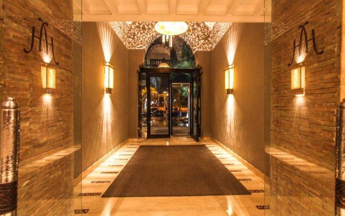 Entree van Hotel & Spa Hivernage in Marrakech