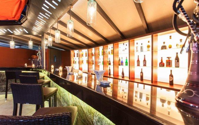 Bar op het dakterras van Hotel & Spa Hivernage in Marrakech