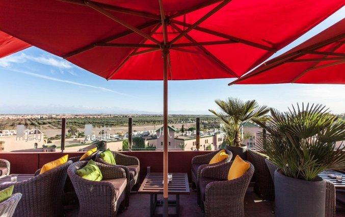 Dakterras van Hotel & Spa Hivernage in Marrakech