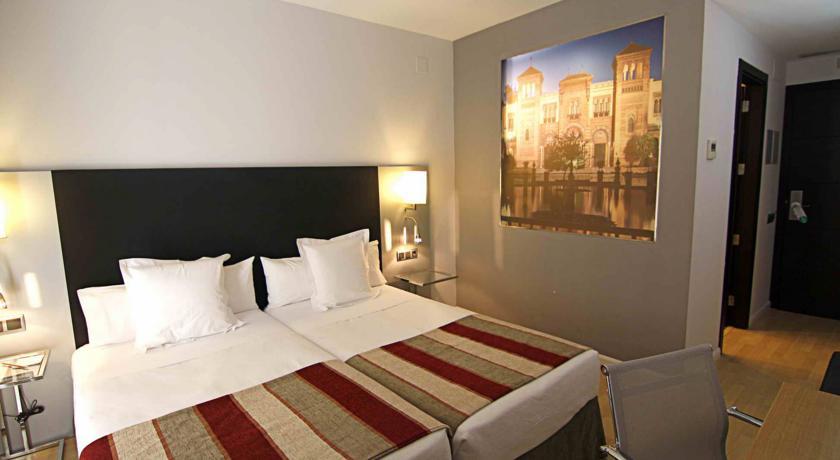 Tweepersoonskamer van Hotel San Gil in Sevilla