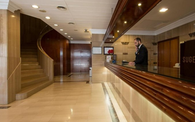 Receptie hotel Derby in Sevilla