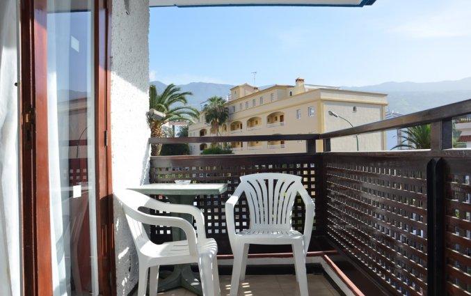 Balkon van een studio van Studio's Pez Azul op Tenerife