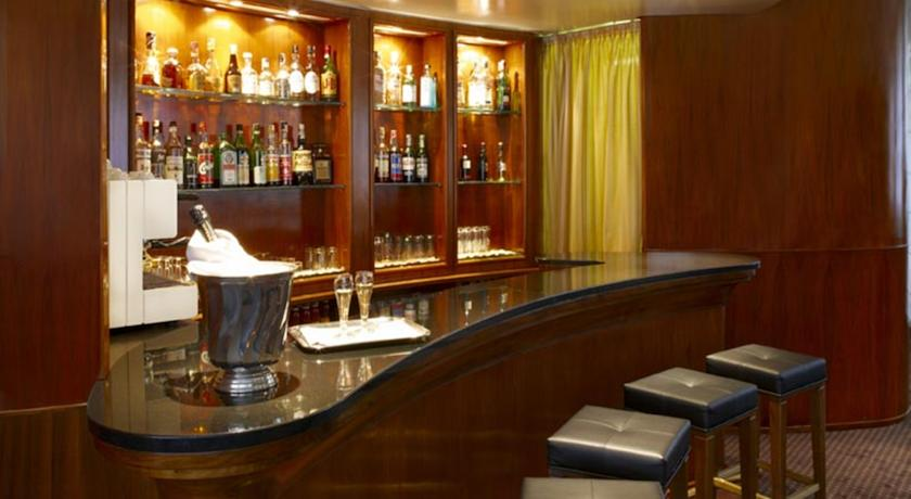 Bar van Hotel Sirio in Venetie