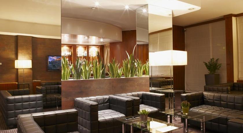 Bar van Hotel Sirio in Venetie