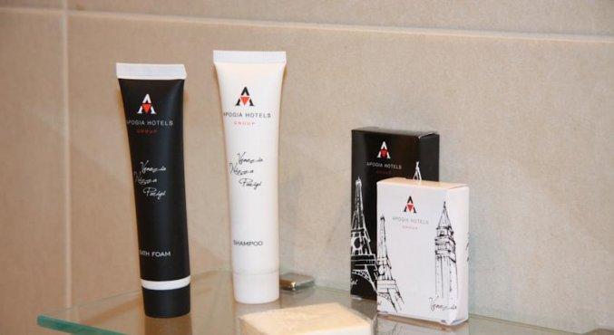 Gratis toiletartikelen van Hotel Sirio in Venetie