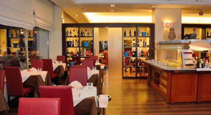 Restaurant van Hotel Sirio in Venetie