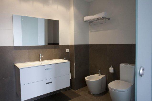 Badkamer van Appartementen Valencia Centre Torres de Quart Valencia
