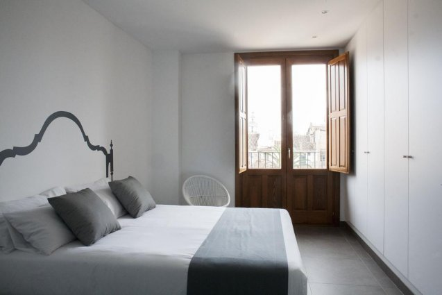 tweepersoonskamer van Appartementen Valencia Centre Torres de Quart Valencia