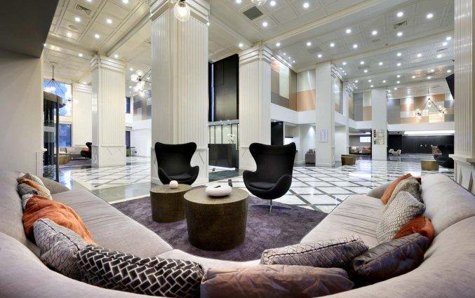 Lobby van Hotel Eurostars Rey Don Jaime in Valencia