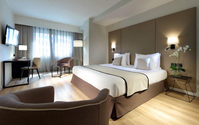 Tweepersoonskamer van Hotel Eurostars Rey Don Jaime in Valencia