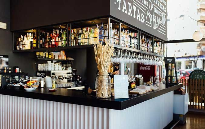 De bar van Hotel Kramer Valencia
