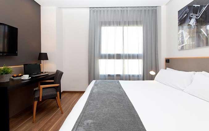 tweepersoonskamer van Hotel Kramer Valencia