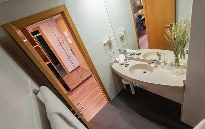 Badkamer van Hotel Kramer Valencia