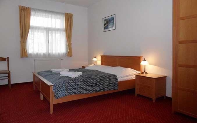 Tweepersoonskamer van Hotel Atos in Praag