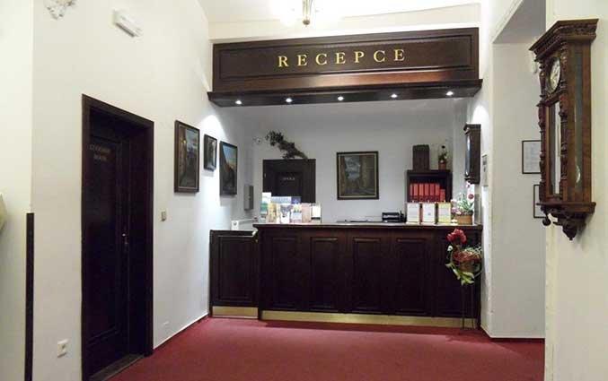 Receptie van Hotel Atos in Praag