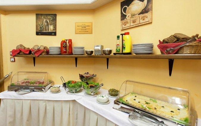 Ontbijtbuffet van Hotel Atos in Praag