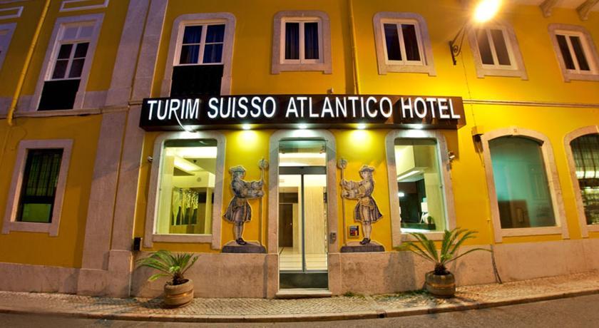 Vooraanzicht van Hotel Turim Restauradores in Lissabon