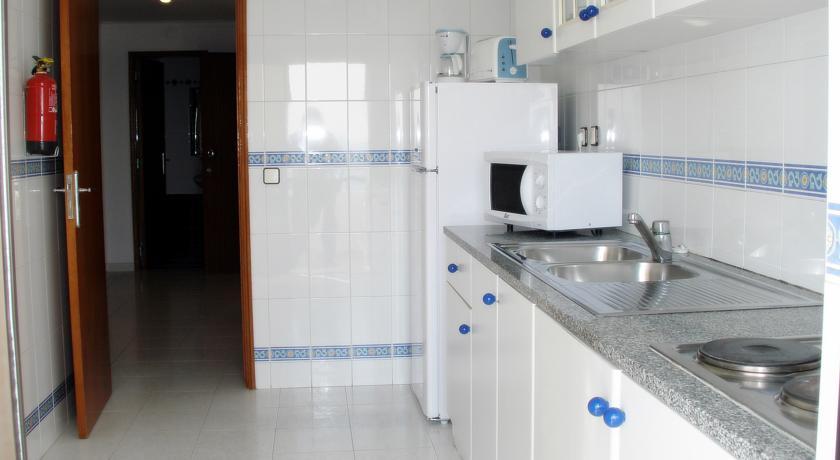 Kitchenette van Appartementen Be Smart Terrace in de Algarve