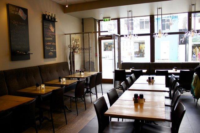 Bar van Hotel Fron in IJsland
