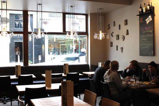 Restaurant van Hotel Fron in IJsland