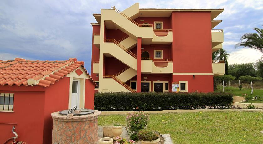 Appartementen Lofos op Corfu