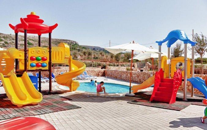 Speeltuin van Resort DB Seabank op Malta