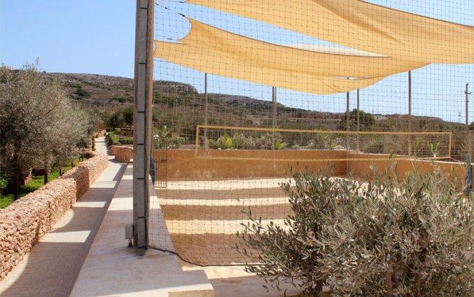 Tennisbaan van Resort DB Seabank op Malta