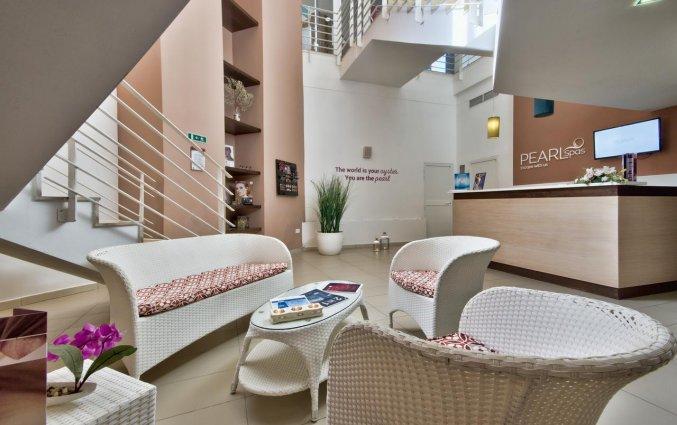 Receptie van Resort DB Seabank op Malta