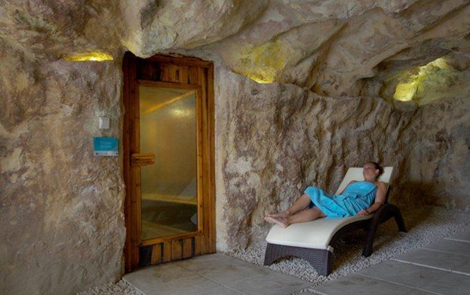 Stoombad van Resort DB Seabank op Malta