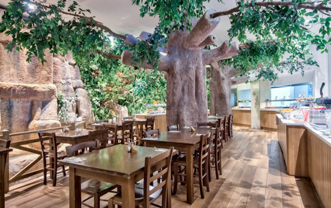 Restaurant van Resort DB Seabank op Malta