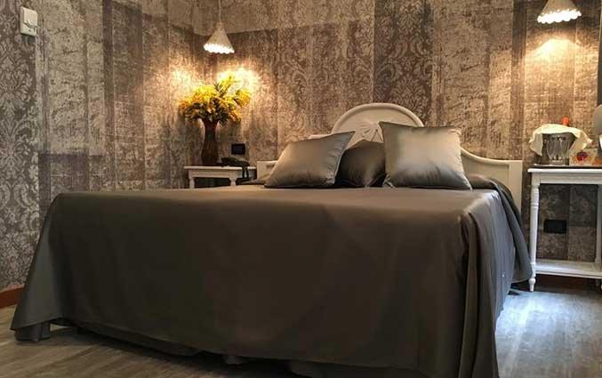 Tweepersoonskamer van Hotel Gorizia a la Valigia in Venetie