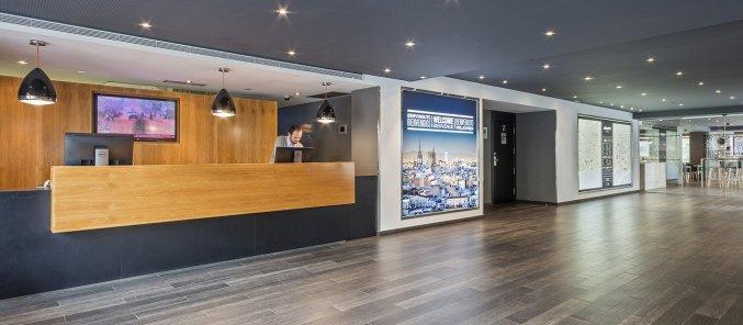 Lobby van hotel Andante in Barcelona