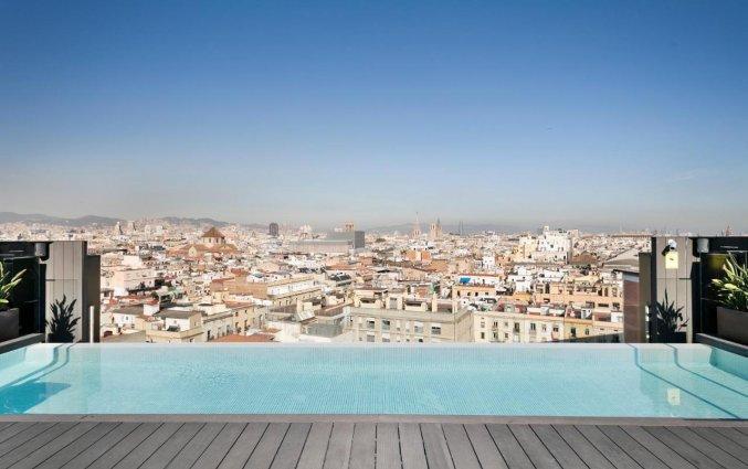 Uitzicht van hotel Andante