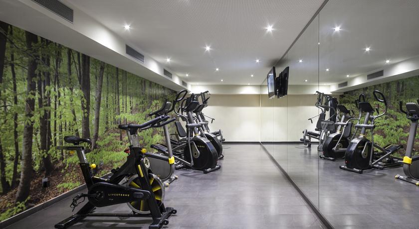 Sportzaal van hotel Andante in Barcelona