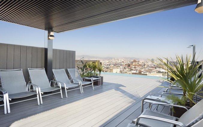 Dakterras hotel Andante Barcelona