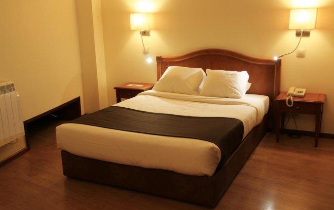 Tweepersoonskamer met 1 bed van Hotel Da Bolsa in Porto
