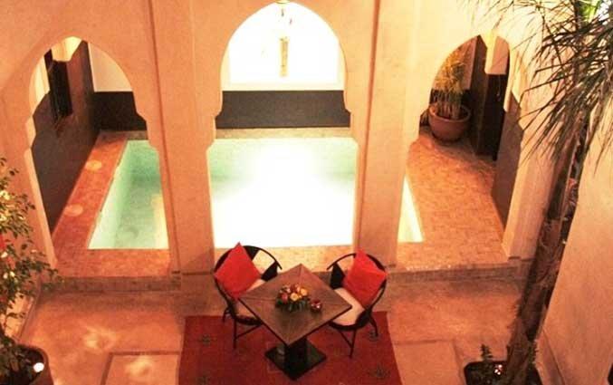 Zwembad van Riad Diana in Marrakech