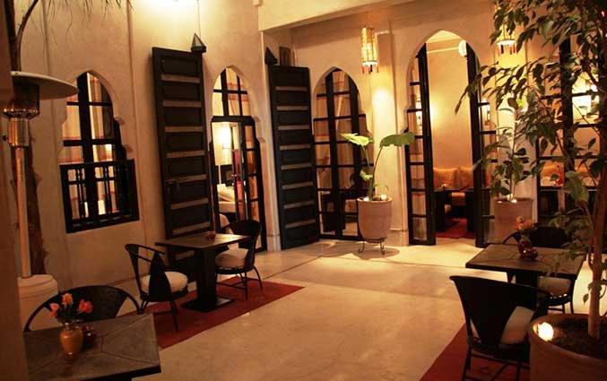 Hal van Riad Diana in Marrakech