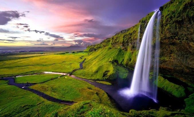 IJsland - Waterval
