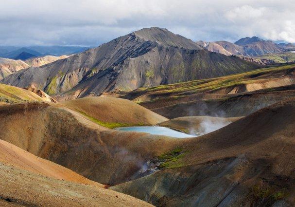 Gebergte in IJsland