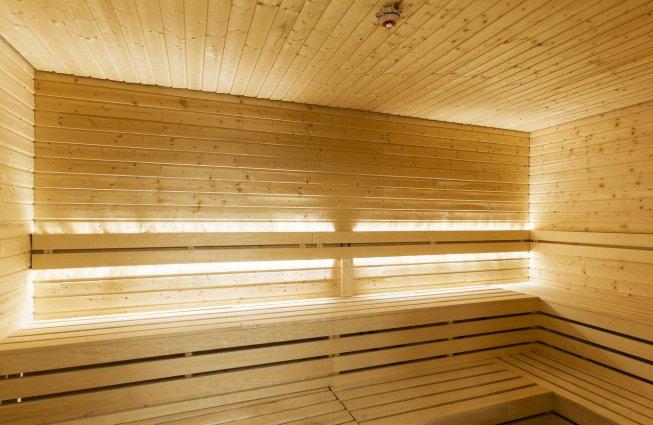 Sauna van Hotel Island op IJsland